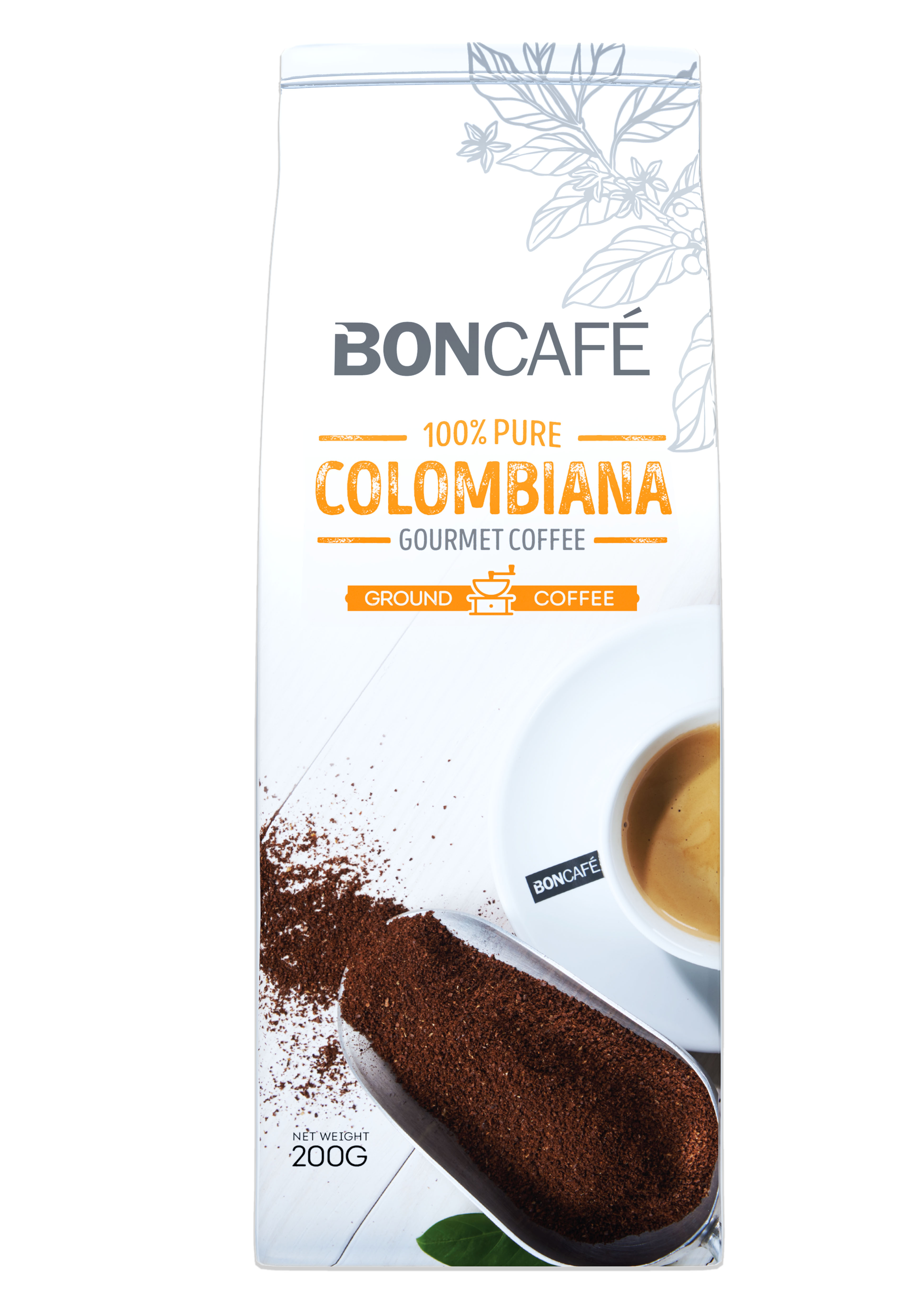 BONCAFÉ - GOURMET COLLECTION GROUND COFFEE: COLOMBIANA BLEND
