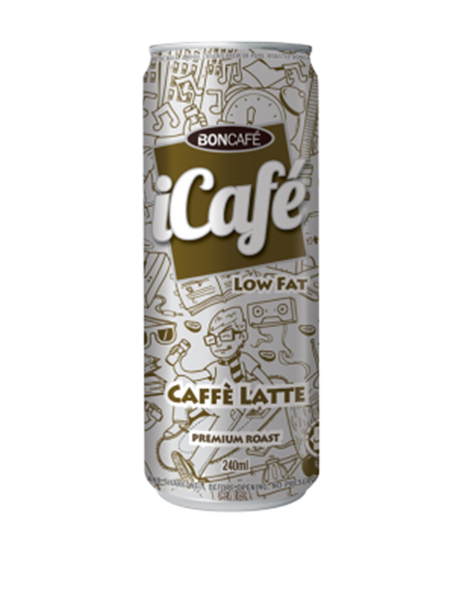 ICAFÉ - CAFFÈ LATTE (LOW FAT)