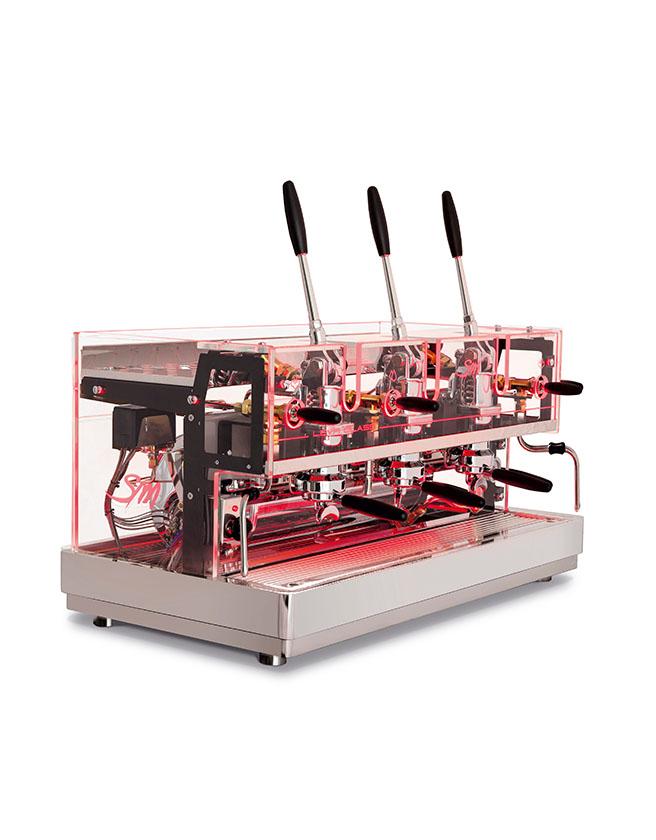 LA SAN MARCO - LEVA LUXURY SEMI-AUTOMATIC COFFEE MACHINE (LED ...