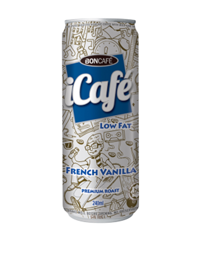 ICAFÉ - FRENCH VANILLA (LOW FAT)