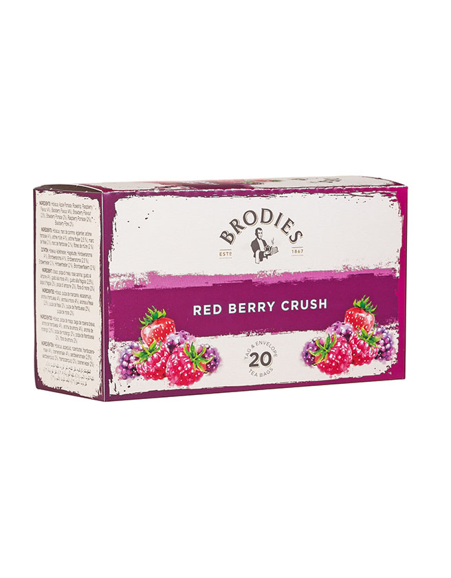 BRODIES - RED BERRY CRUSH TEA