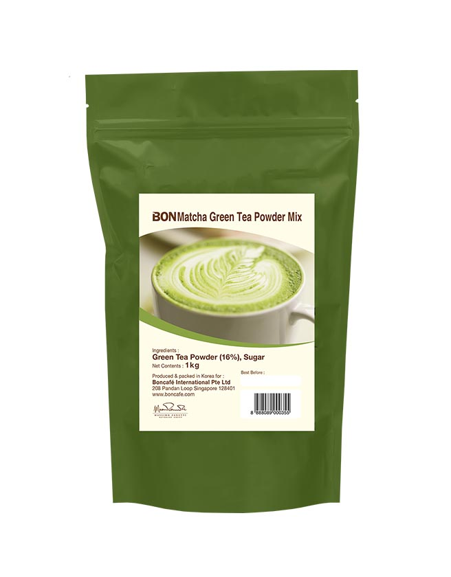 BONMATCHA 16% KOREAN GREEN TEA POWDER MIX