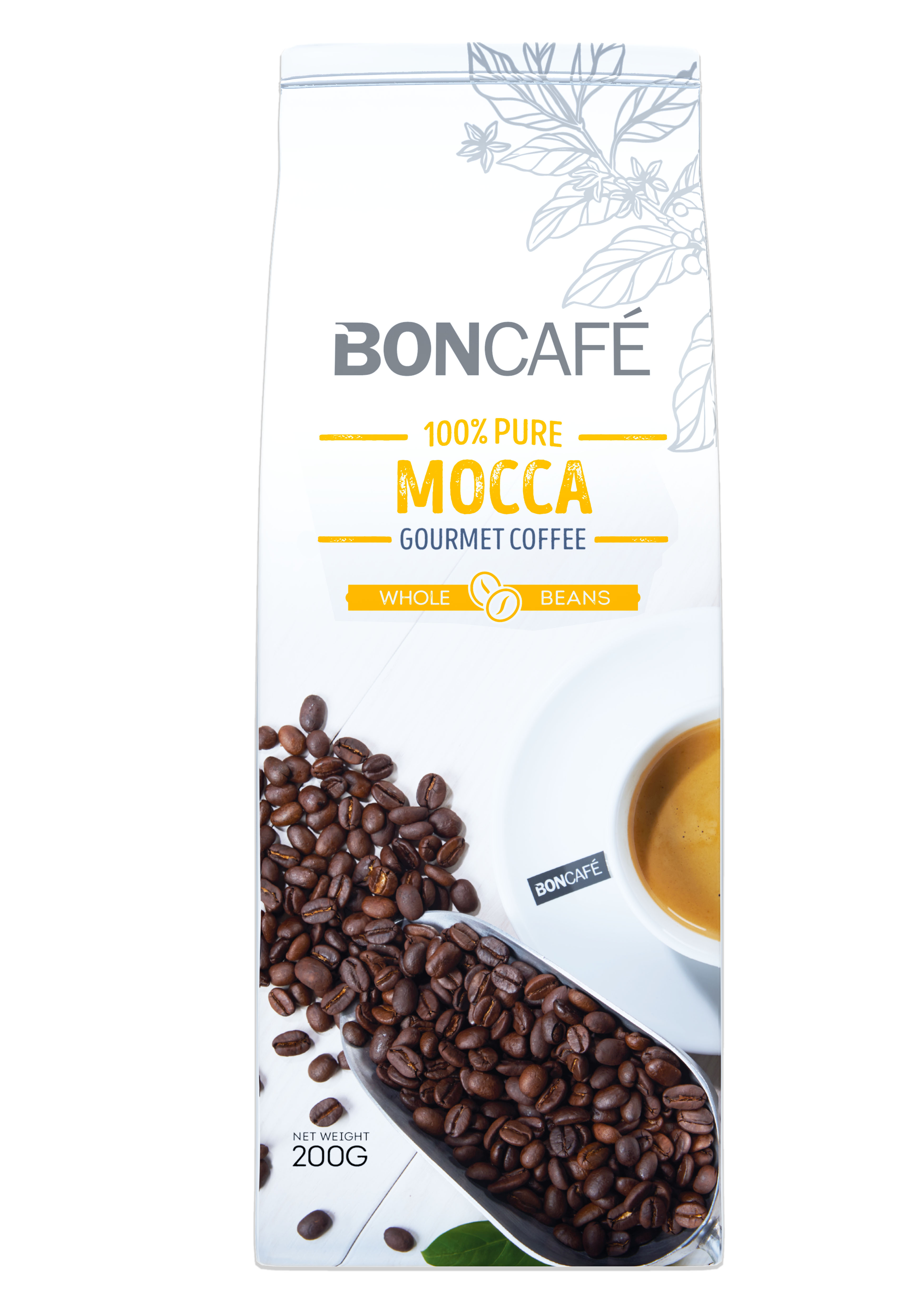 BONCAFÉ - GOURMET COLLECTION COFFEE BEAN: MOCCA BLEND