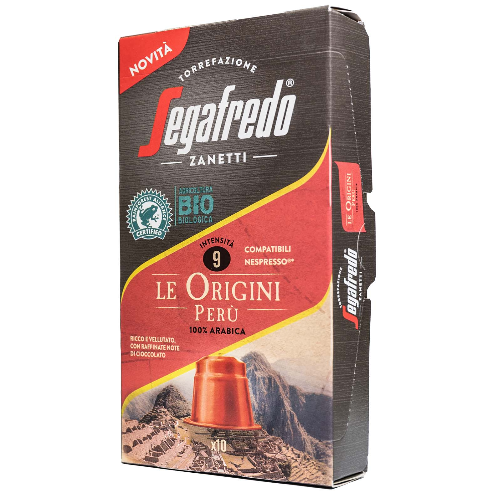 SEGAFREDO ZANETTI - [100% ARABICA (SINGLE ORIGIN)] PERU COFFEE CAPSULE