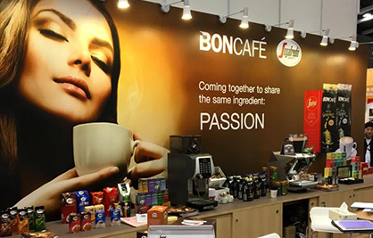Boncafé at Hong Kong International Bakery Expo 3-5/12/2015