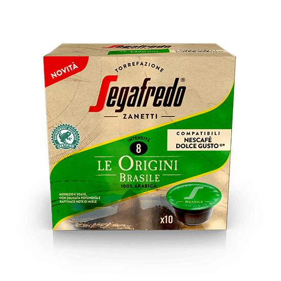 SEGAFREDO ZANETTI - [100% ARABICA (SINGLE ORIGIN)] BRASILE COFFEE CAPSULE