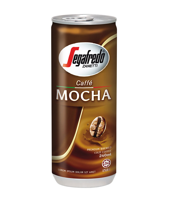 SEGAFREDO ZANETTI - MOCHA CANNED COFFEE
