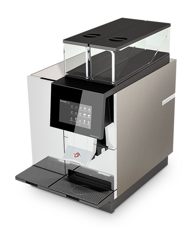 THERMOPLAN - BLACK & WHITE 4C FULLY-AUTOMATIC COFFEE MACHINE