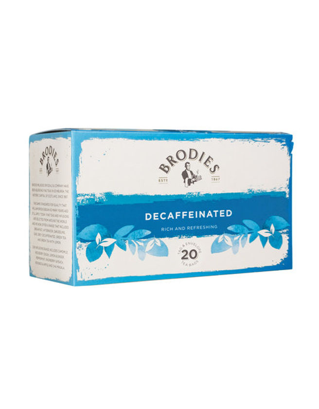 BRODIES - DECAFFEINATED TEA