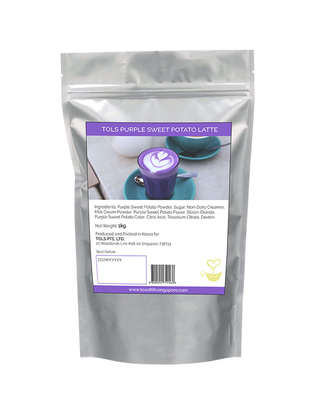 KOREAN PURPLE SWEET POTATO LATTE POWDER MIX