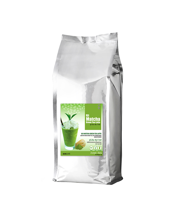 BONTEA INSTANT TEA MIX - UJI MATCHA GREEN TEA LATTE MIX