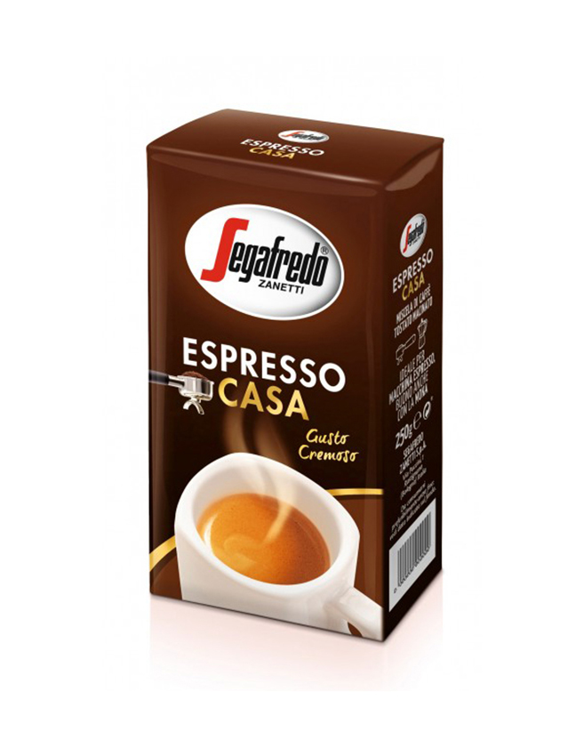 SEGAFREDO ZANETTI - ESPRESSO CASA GROUND COFFEE