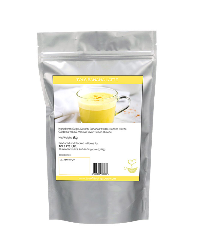 KOREAN BANANA LATTE POWDER MIX