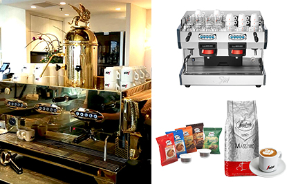 [Newsletter - Jul 2016] Segafredo Zanetti New Coffee Blend &  La San Marco Coffee Machines  from ITALY!