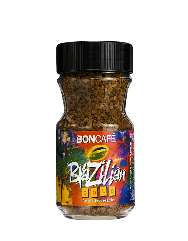 BONCAFÉ - BRAZILIAN GOLD INSTANT COFFEE (100% ARABICA)
