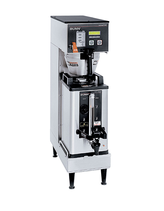 BUNN BrewWISE® Coffee/Milk Tea Brewer (Single SH DBC 33600.0006)