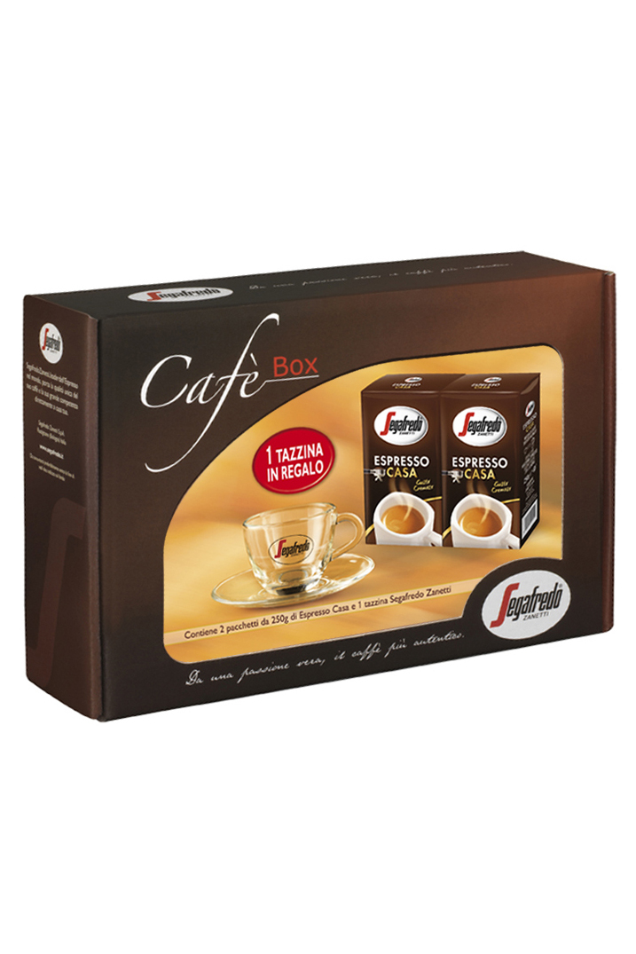 SEGAFREDO ZANETTI - ESPRESSO CASA GROUND COFFEE GIFT PACK