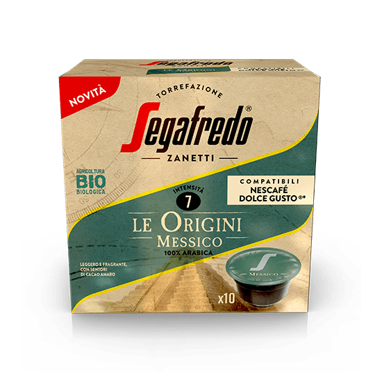 SEGAFREDO ZANETTI - [100% ARABICA (SINGLE ORIGIN)] MESSICO COFFEE CAPSULE