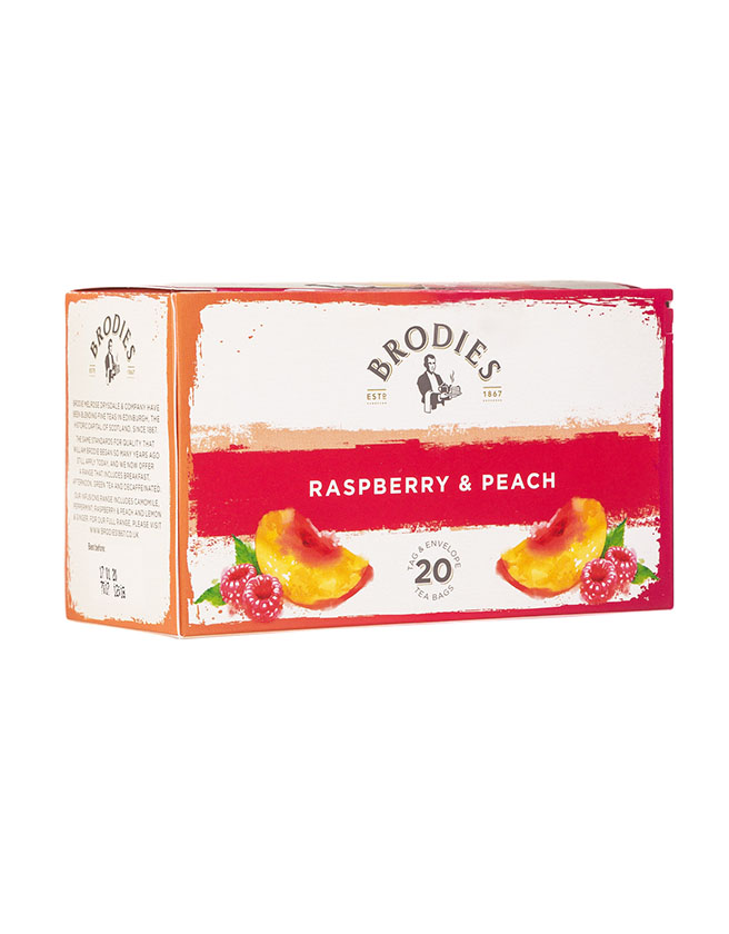 BRODIES - RASPBERRY & PEACH TEA