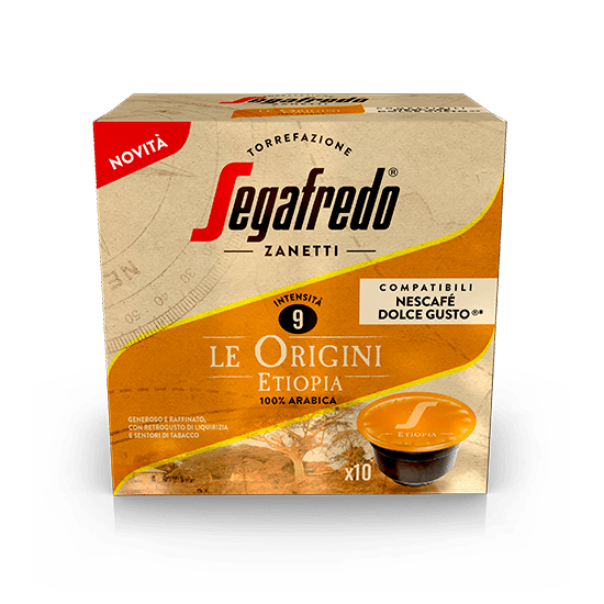 SEGAFREDO ZANETTI - [100% ARABICA (SINGLE ORIGIN)] ETIOPIA COFFEE CAPSULE