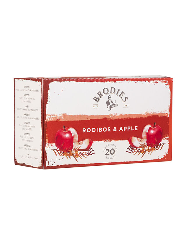 BRODIES - ROOIBOS & APPLE TEA