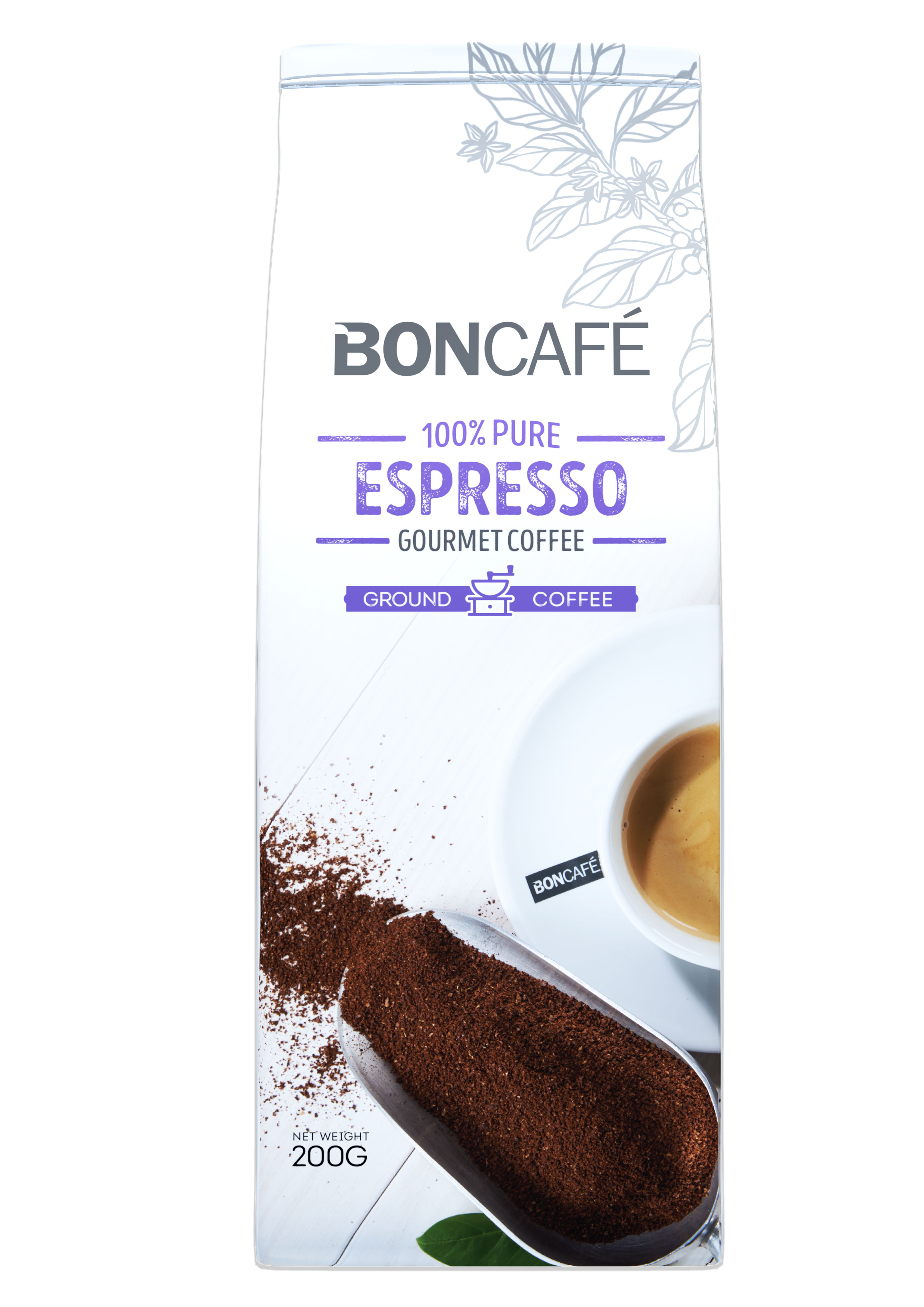 BONCAFÉ - GOURMET COLLECTION GROUND COFFEE: ESPRESSO BLEND