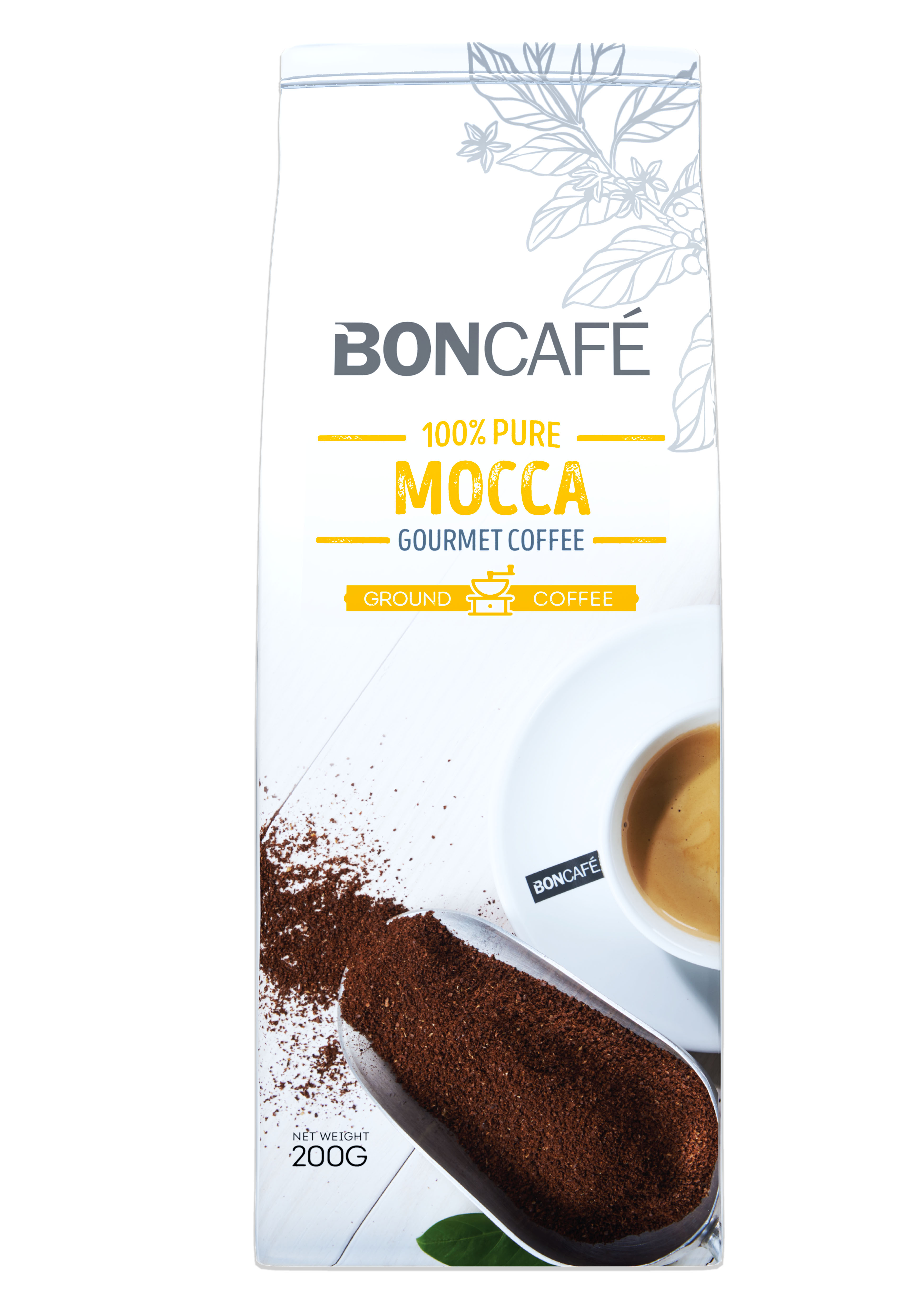 BONCAFÉ - GOURMET COLLECTION GROUND COFFEE: MOCCA BLEND