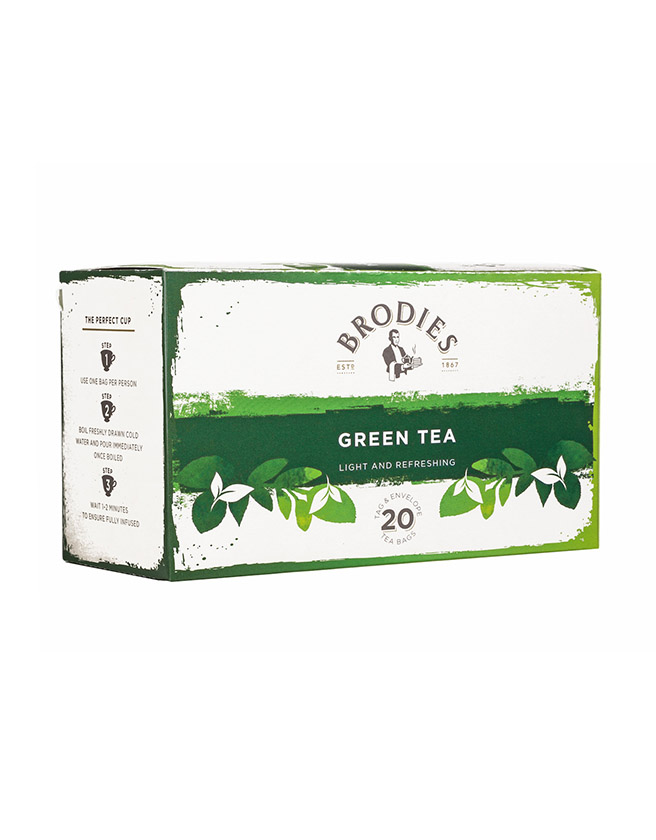 BRODIES - GREEN TEA