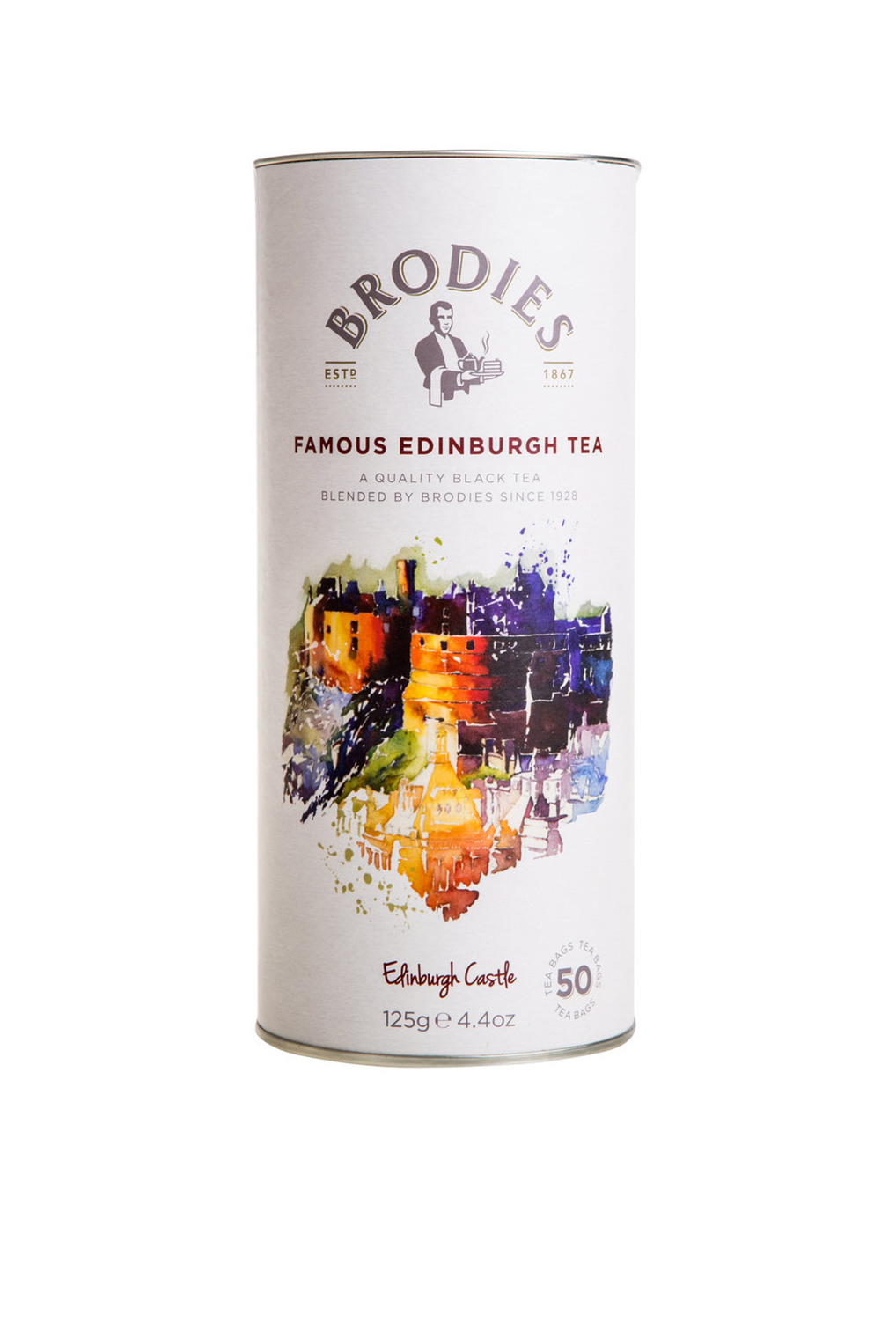 BRODIES - Famous Edinburgh Tea Gift Drum