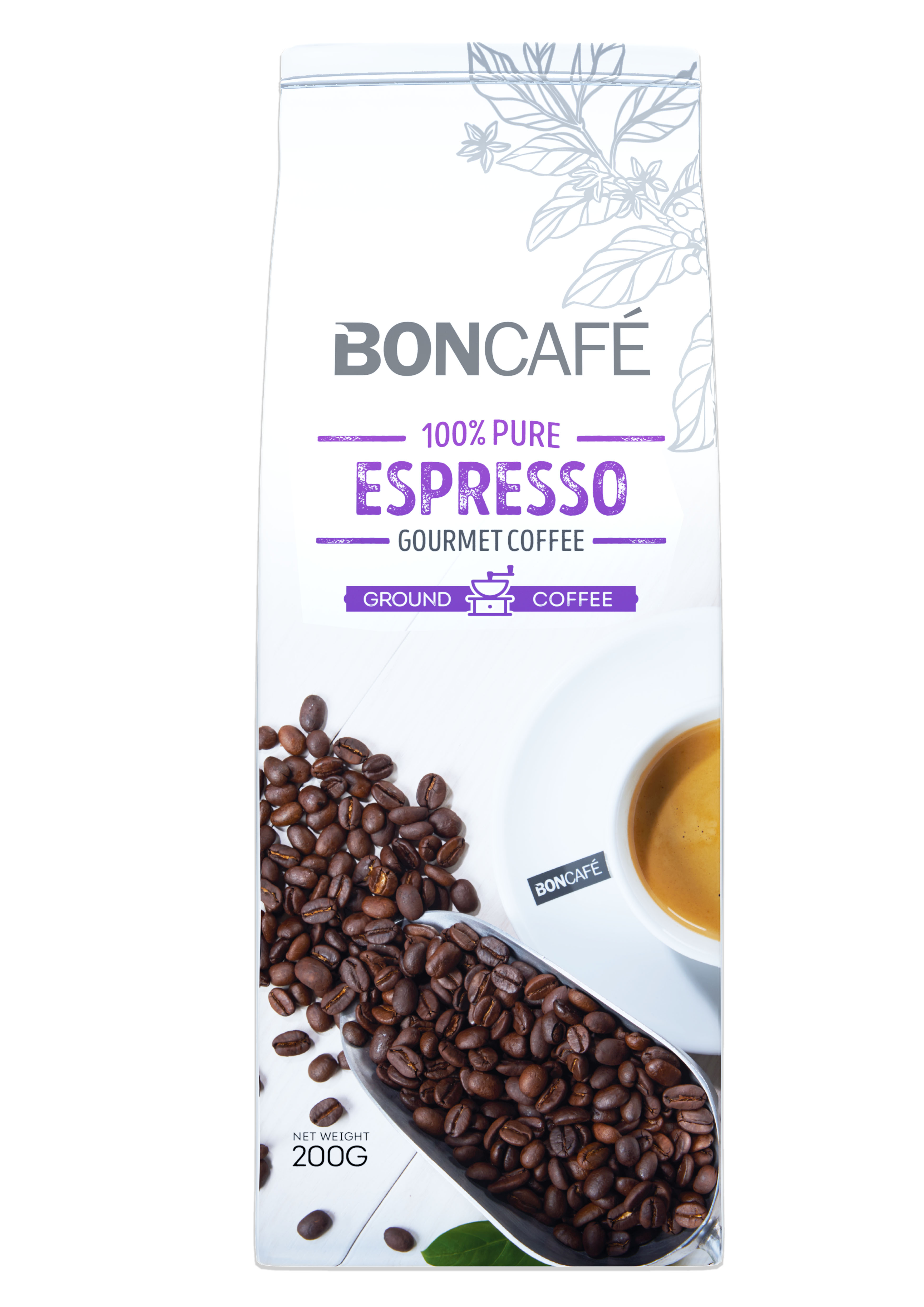 BONCAFÉ - GOURMET COLLECTION COFFEE BEAN: ESPRESSO BLEND