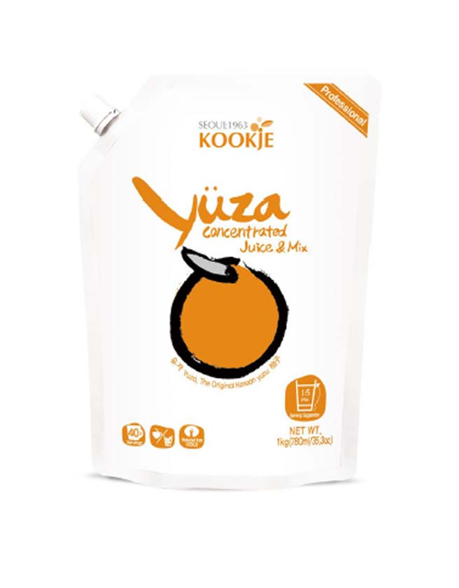 KOOKJE - KOREAN YUZA CONCENTRATED JUICE & MIX