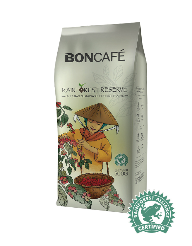 BONCAFÉ - RAINFOREST RESERVE: AN ASIAN SUSTAINABLE COFFEE