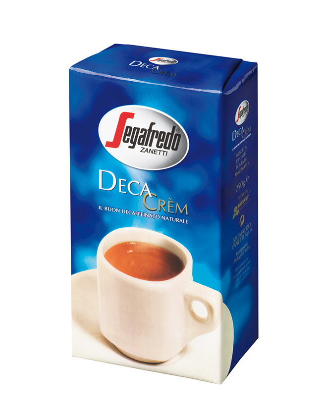 SEGAFREDO ZANETTI - DECA CREM DECAFFEINATED GROUND COFFEE