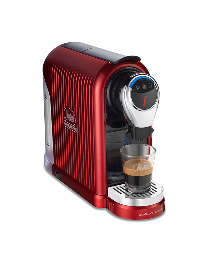 SEGAFREDO COFFEE SYSTEM: ESPRESSO 1 PLUS COFFEE CAPSULE MACHINE