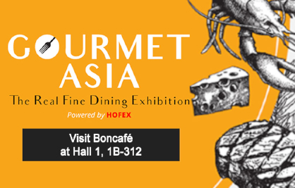 [Newsletter - May 2018] Invitation: Boncafé @Gourmet Asia 2018