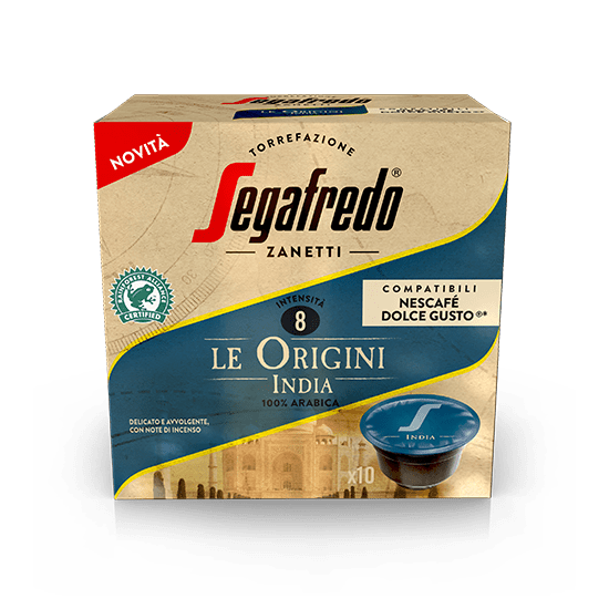 SEGAFREDO ZANETTI - [100% ARABICA (SINGLE ORIGIN)] INDIA COFFEE CAPSULE