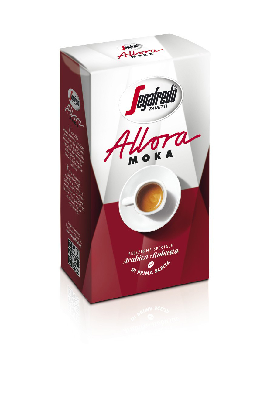 SEGAFREDO ZANETTI - ALLORA MOKA GROUND COFFEE